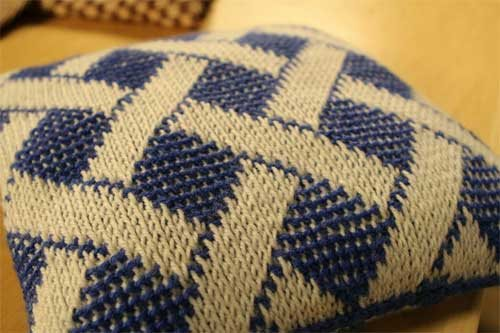 You Can Do It! Two-Color Tunisian Crochet In-the-Round - Interweave