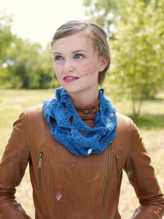 Crochet Motif Cowl
