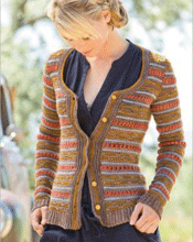 Colorwork Crochet Cardigan
