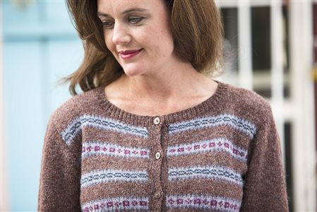 kittery point cardigan knitted sweater pattern