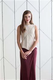 Joan Forgione Hanky Tank knit.purl Spring/Summer 2015