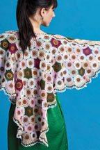 Crochet Shawl - The Meadow Shawl