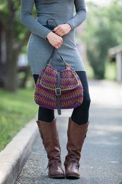 Crochet Purse Pattern, Perspective Crochet Purse by Ellen Gormley