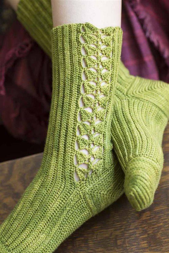 Crochet Ever After: Crocheted Socks