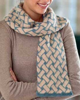 Aijro Scarf from Vintage Modern Knits