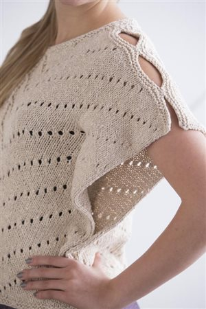 Moon Eldridge Moth Wing Top knit.purl Spring/Summer 2015