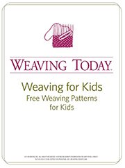 You'll love Interweave's free eBook on weaving for kids that contains FREE weaving patterns for kids that they'll love to weave!
