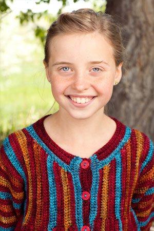 Crochet Girl's Jacket