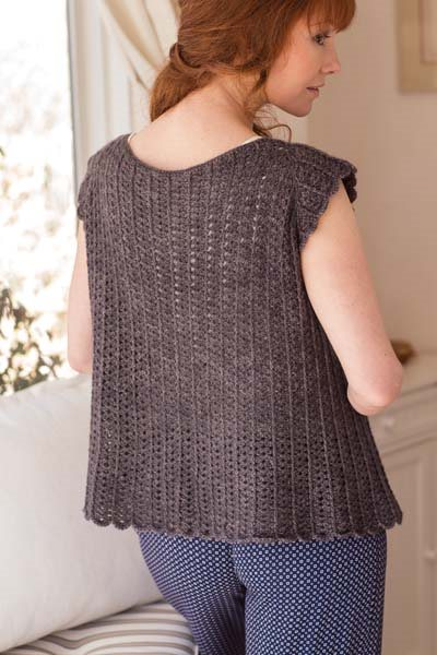 Crochet So Lovely: Crochet Short-Sleeve Cardigan