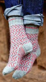 Pinked Socks