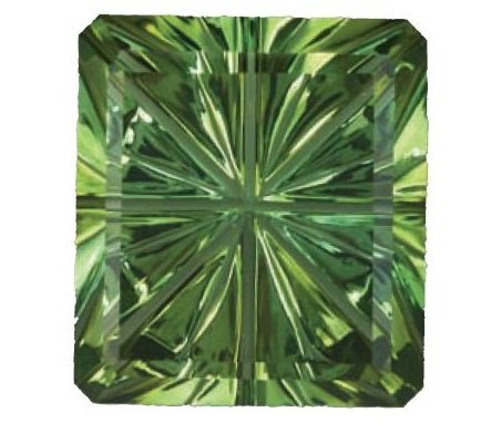 Starbrite(TM) Green Tourmaline by John Dyer. Photo by David Dyer.