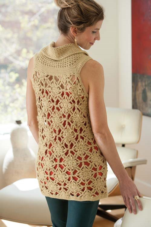 Blueprint Crochet Sweaters: Crochet Motif Tank