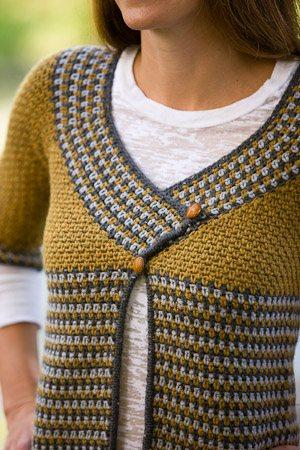 Riverstone Crochet Cardigan
