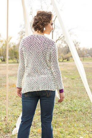Lotus Sweater Back