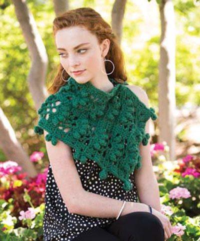 Colorful Crochet Lace: Crochet Capelet