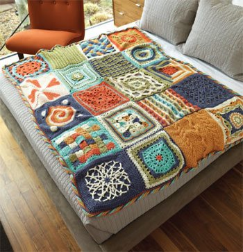 You'll love this free ebook that contains crochet afghan patterns and more.