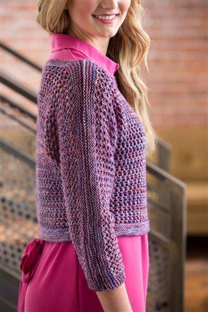 Joan Forgione Boatneck Dolman knit.purl Spring/Summer 2015