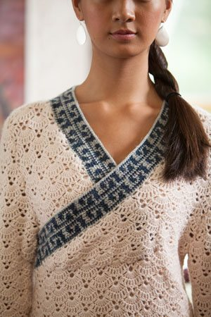 Crochet Colorwork Pullover