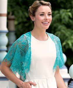 nereid knitted lace shawl andrea jurgrau