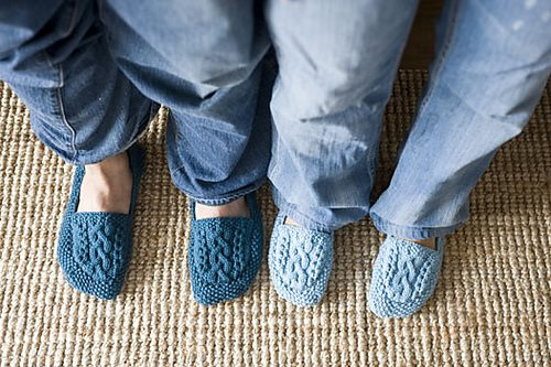 Cozy Slippers Interweave