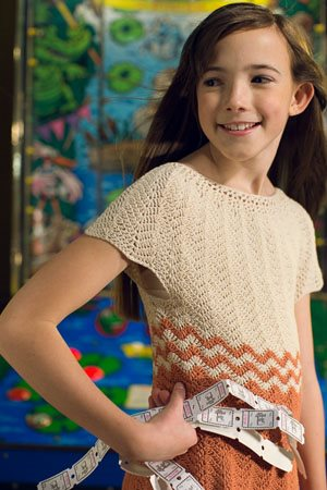 Dancette Dress shoulder