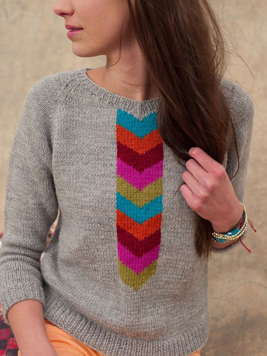 Knitting Sweaters And Modeled Bust Ease Interweave