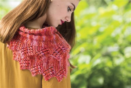 caterpillar cowl knitted cowl pattern