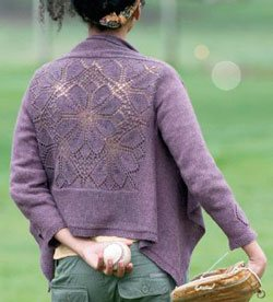 The Dahlia Cardigan from Fall 2011 Interweave Knits