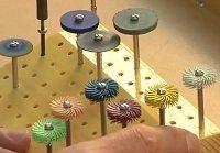 flex shaft accessories, polishing and grinding wheels