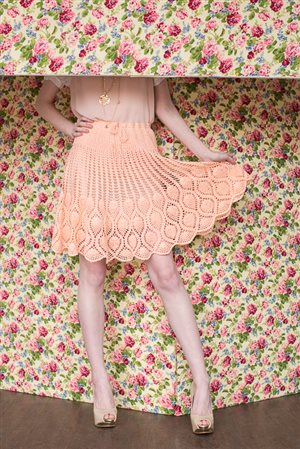 Pineapple Skirt lace