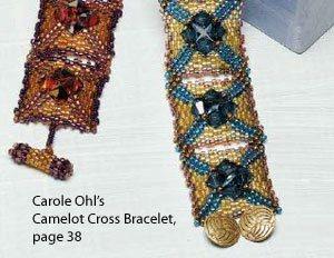 Camelot Cross Bracelet, by Carole Ohl