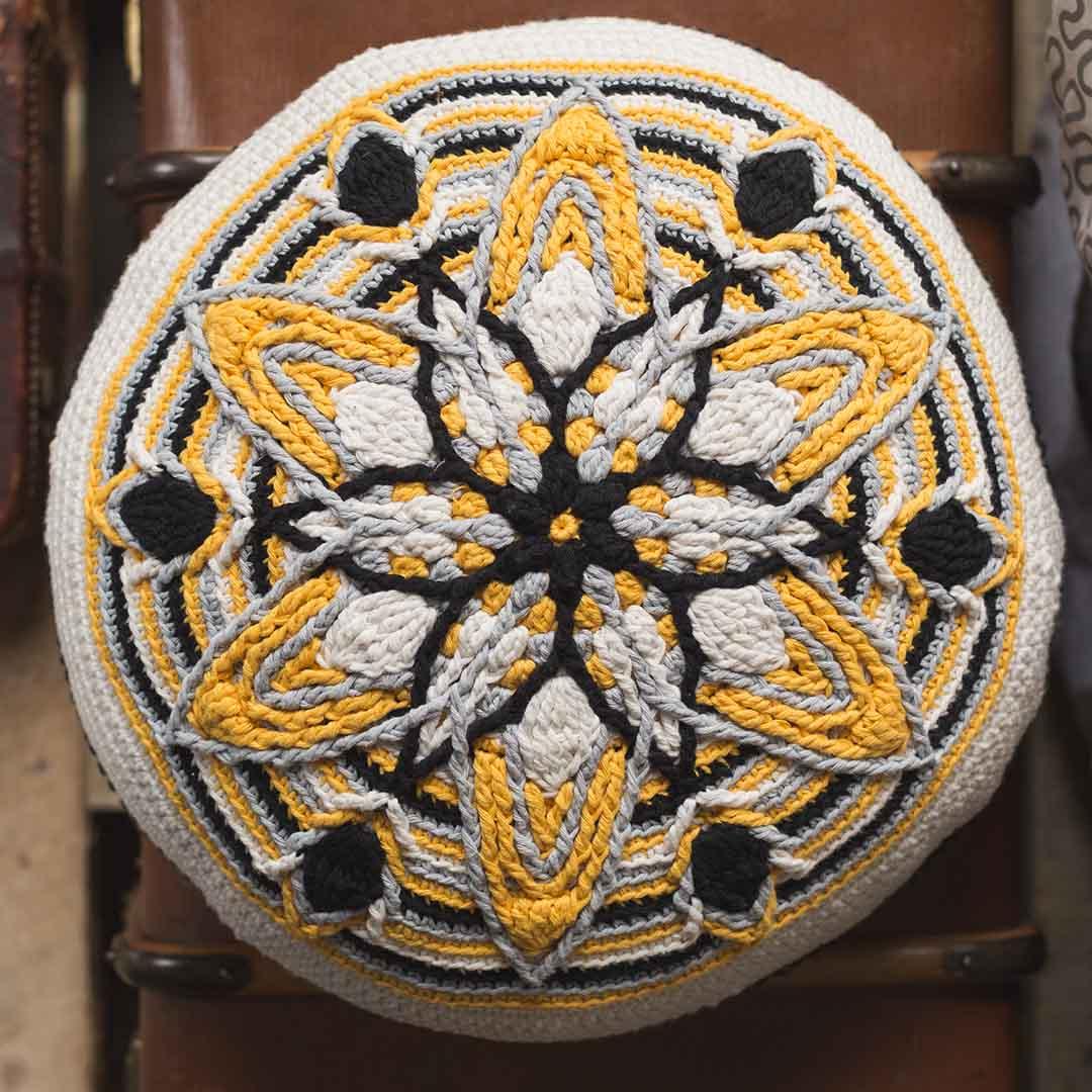 Mandala Cushion | Credit: Harper Point Photography