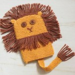 A Lion Puppet to Knit