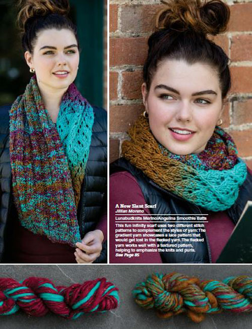 A New Slant Scarf by Jillian Moreno