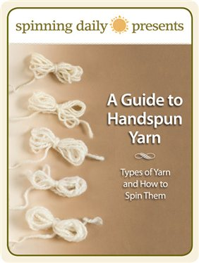 Learn how to make handspun yarn and more in this FREE spinning eBook on types of yarn.