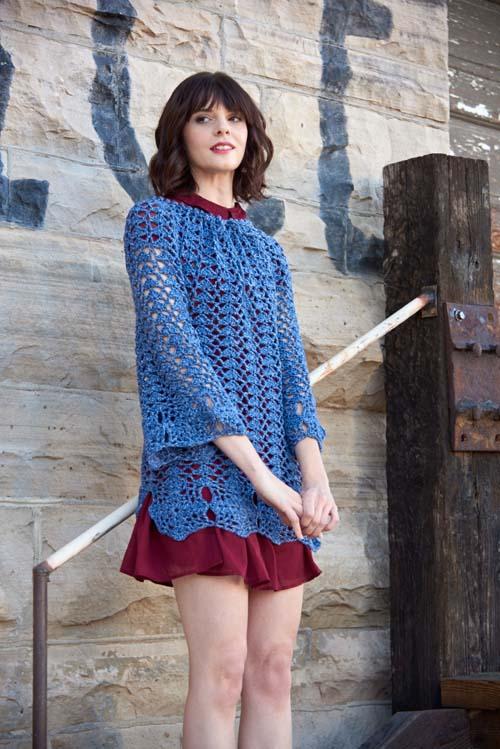 Abalone Tunic Crochet Pattern