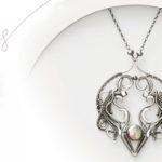 <em>Woven in Wire</em> Jewelry: Ada Necklace