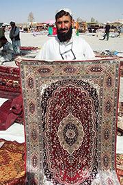 Afghan silk