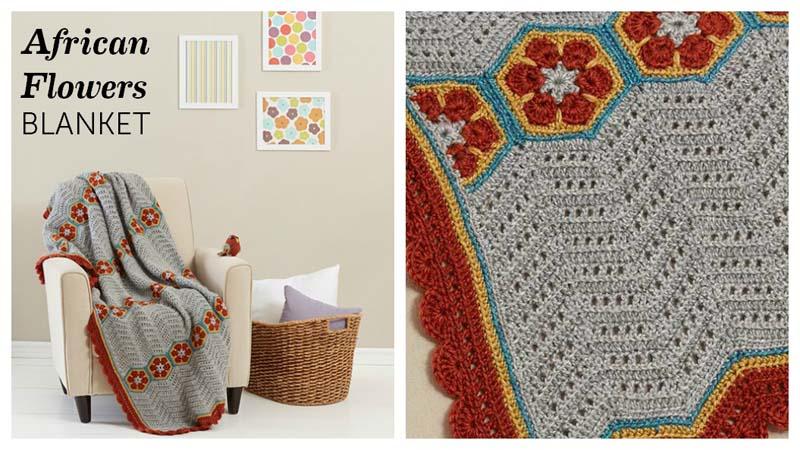 African-Flowers-Blanket