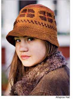 Allspice Crochet Hat