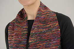 rag-woven scarf