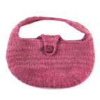 Easy Free Knitting Patterns: Women's Knitted Bag Pattern
