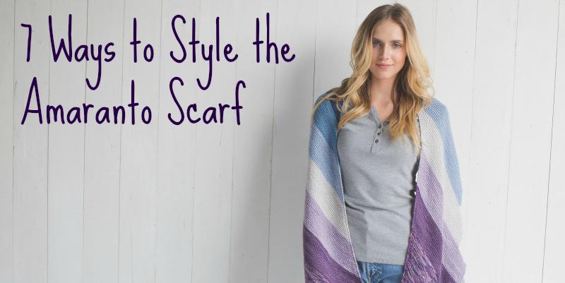 7 Ways to Style the Amaranto Scarf