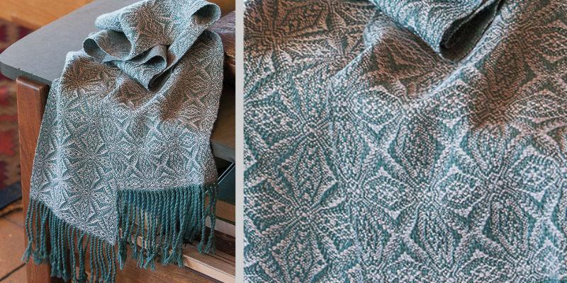 Weekend Weaving: American Snowflake Scarf