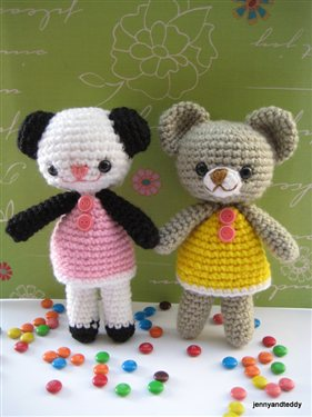 Amigurumi-Andanda-and-Annie-Bear