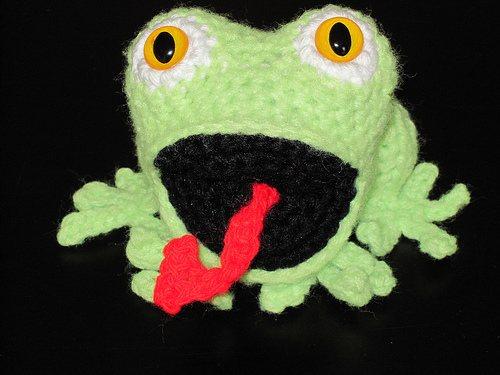 Amigurumi-Crochet-Frog-Greonouille