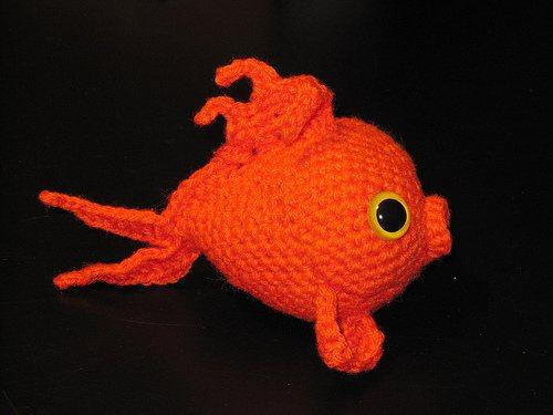 Amigurumi-Goldfish-Pucker