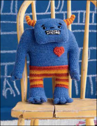 Little Joe by Brenda K. B. Anderson is a little crochet, amigurumi monster found in the 11 Free Crochet Amigurumi Patterns eBook.