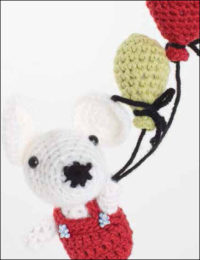 Chiyo the Mouse is one of the eleven projects found in the Free 11 Amigurumi Crochet Patterns eBook.