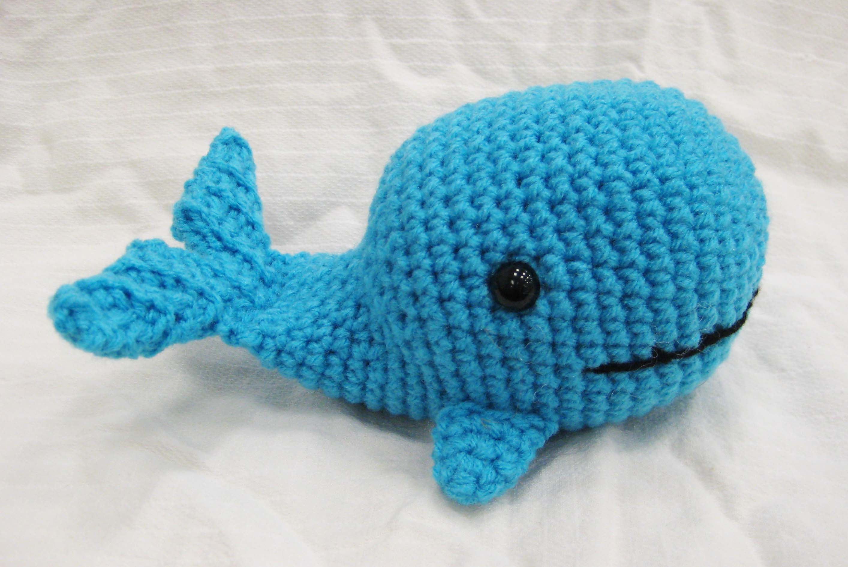 Amigurumi Christmas Ornaments Patterns : Wilfred the Whale - Amigurumi Calendar Contestant - Interweave